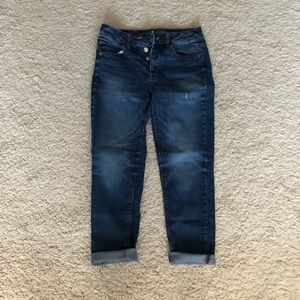 American Eagle Tomgirl stretch jeans